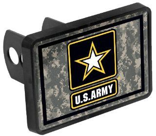 NCAA United States ARMY Universal Plastic with Domed Insert Trailer Hitch Receiver Sports & Outdoors