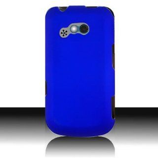 Silicone Gel Skin BLUE Sleeve Rubber Soft Cover Case for LG 900G [WCG327] Cell Phones & Accessories