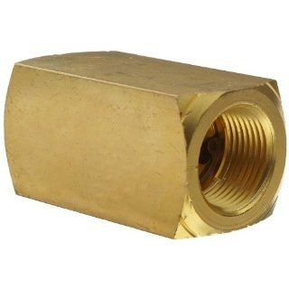 "Parker 003393004 339 Series Brass Check Valve, 3/4"" NPT Female Industrial Check Valves"