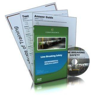 Convergence C 343 Line Breaking Safety Training Program DVD, 39 minutes Time Industrial Safety Training Dvds And Videos