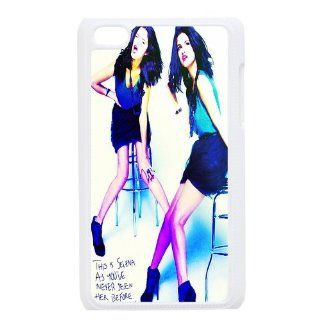 Hot Singer Selena Gomez Design Cases Protective Skin For Ipod Touch 4 ipod4 81707  Players & Accessories