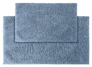 Garland Rug 2 Piece Queen Cotton Washable Rug Set, Sky Blue   Bath Rugs