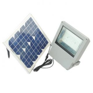 Super Bright SMD LED Solar Flood Light w Panel and Remote  Solar Outdoor Led Flood Light  Patio, Lawn & Garden