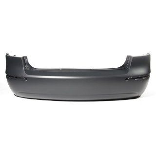 CarPartsDepot, Primered Plastic Rear Bumper Cover Replacement CAPA Certified, 352 222139 20 CA HY1100166 866100A800 Automotive