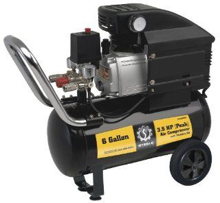 Steele Products SP CE356M 6 Gallon Air Compressor with Wheel Kit