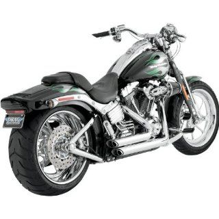 Vance & Hines Shortshots Staggered Exhaust System   Chrome Automotive