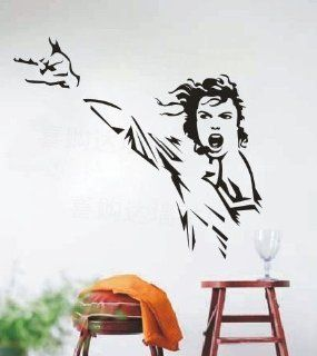 Song Dance Star Michael Jackson Classic Action Decal Wall Stickers Vinyl Wall Decor Living Room Bed Room Decals 359