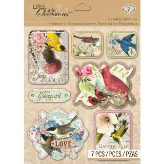 Life's Little Occasions Sticker Medley Classic Bird