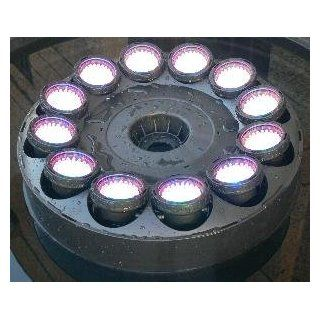 Super bright LED Fountain Light Ring with 12x60 RGB Color Changing LEDS