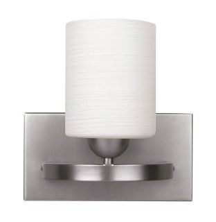 CANARM LTD. IVL370A01BPT Hampton 1 Bulb Vanity Light, Brushed Pewter