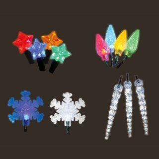 Club Pack of 400 Battery Operated Holiday Assorted Christmas Lights   String Lights