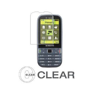 Clear Screen Protector for Samsung Gravity TXT SGH T379 Cell Phones & Accessories
