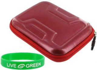 Memory Foam Hard Shell Case (Candy Red) for Kodak EasyShare M380 Digital Camera Black  Camera & Photo