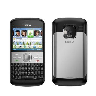 Nokia NK E5 00 Unlocked Phone with QWERTY keyboard, GPS, 5 MP Camera andWi Fi   International Warranty   Black Cell Phones & Accessories