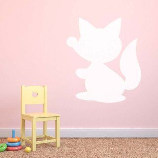 Fox Dry Wipe Whiteboard Childrens Bedroom Playroom Wall Sticker 378 x 433 mm   Childrens Dry Erase Boards