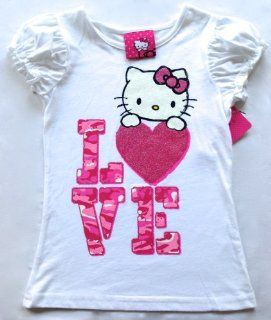 Hello Kitty Kids Shirt, Little Girls Graphic Tee (Size 3t) Baby