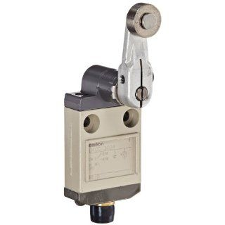 Omron D4CC 3024 Miniature Limit Switch, High Sensitivity Roller Lever, 1A at 30VDC Rated Current Electronic Component Limit Switches