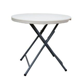 Coleman C11TM387 Round Blow Molded Plastic Table, 32 Inch   Folding Tables
