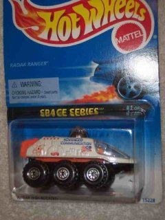 Space Series #1 Radar Ranger #388 Collectible Collector Car Mattel Hot Wheels Toys & Games