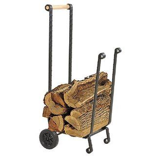 Heavy Duty Firewood Cart With Wheels Beauty