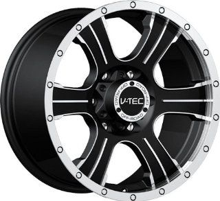 VISION WHEEL   396 assassin   17 Inch Rim x 8.5   (6x5.5) Offset (25) Wheel Finish   matte black machined face Automotive