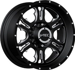 VISION WHEEL   397 rage   20 Inch Rim x 9   (6x135) Offset (12) Wheel Finish   gloss black milled spoke Automotive