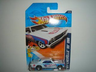2011 Hot Wheels HW Racing '67 Chevelle SS 396 White on 2 Car Bands Included Card #151/244 Toys & Games