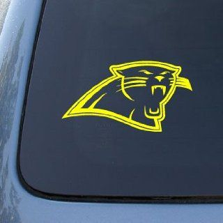 CAROLINA PANTHERS   FOOTBALL   Vinyl Car Decal Sticker #1786  Vinyl Color Yellow Automotive