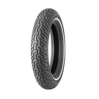 Dunlop D402 Harley Davidson Whitewall Front Tire     /Black Automotive
