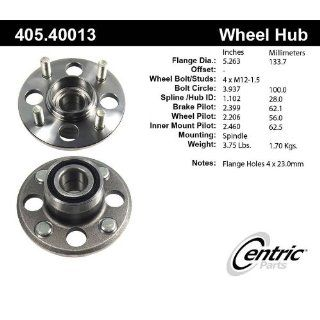 Centric 405.40013E Rear Wheel Hub and Bearing Assembly Automotive