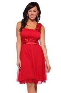 Hot From Hollywood Women's Designer Gathered Empire Flowy Evening Prom Dress Clothing