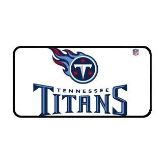 Custom Tennessee Titans Logo Metal License Plate Frame for Car  Sports Fan License Plate Frames  Sports & Outdoors
