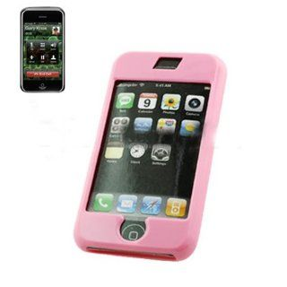 Fashionable Perfect Fit Hard Protector Skin Cover Cell Phone Case for Apple iPhone AT&T   Pink Cell Phones & Accessories