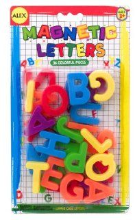 MAGNETIC LETTERS (SET OF 36) Toys & Games