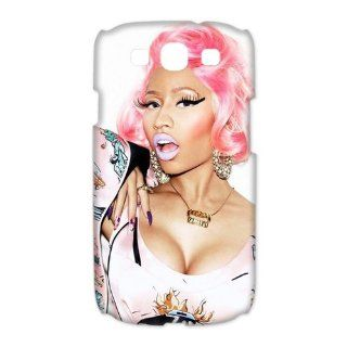 Custom Nicki Minaj 3D Cover Case for Samsung Galaxy S3 III i9300 LSM 2654 Cell Phones & Accessories