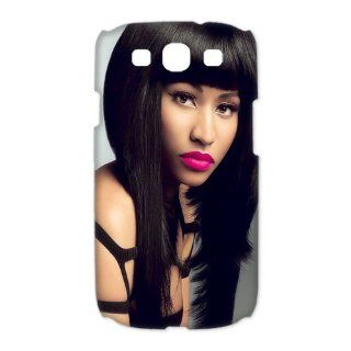 Custom Nicki Minaj 3D Cover Case for Samsung Galaxy S3 III i9300 LSM 2649 Cell Phones & Accessories