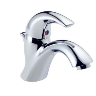 Spout Series Single Hole Bathroom Faucet with Single Handle