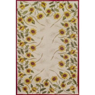 Duracord Sawgrass Mills Sunflowers Brown Rug