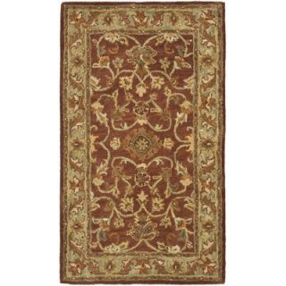 Safavieh Golden Jaipur Rust/Green Rug