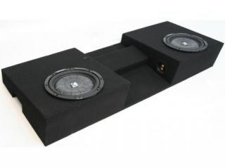 "TOYOTA TACOMA 05 09 DUAL 10"" CUSTOM FIT KICKER SUB BOX"