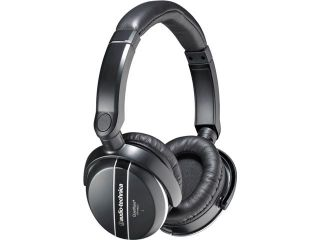 Audio Technica ATH ANC27 3.5mm/ 6.3mm Connector Circumaural QuietPoint Active Noise cancelling Headphone