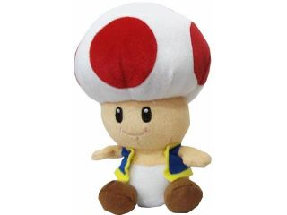 "Super Mario Brothers Red Toad 12"" Plush"