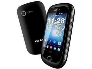 Blu Dash Junior D140 Black 1.0GHz Unlocked GSM Dual SIM Android Cell Phone