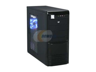 LOGISYS Computer CS309Bk Black ATX Mid Tower Computer Case 480W Power Supply