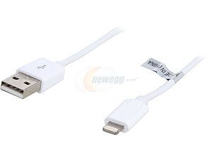Nippon Labs USB LI 3WH 3 ft. MFi Certified White Apple 8 pin Lightning Connector to USB Cable for Apple iPhone5, iPad4, iPad Mini, iPod Touch 5th Gen, iPod Nano 7th Gen   Charge and Sync Cable
