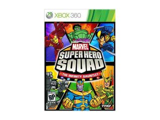 Marvel Super Hero Squad: Infinity Gauntlet Xbox 360 Game THQ