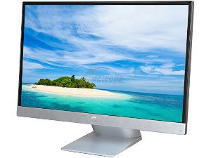 "HP Pavilion 23xi Silver / Black 23"" 7ms HDMI Widescreen LED Backlight LCD Monitor, IPS Panel 250 cd/m2 10,000,000:1"