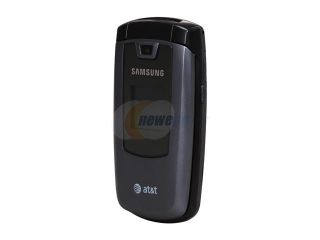 Samsung A437 Gray Unlocked GSM Flip Phone with Speakerphone