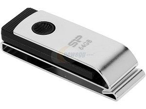 Silicon Power Touch 825 32GB Waterproof USB 2.0 Flash Drive Model SP032GBUF2825V1C