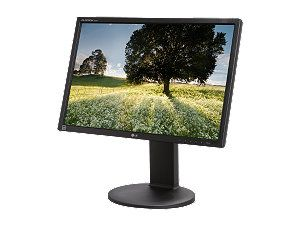"LG E2210P BN Black 22"" 5ms  Pivot, Swivel & Height Adjustable LED Backlight Widescreen LCD Monitor 250 cd/m2 DFC 5000000:1"